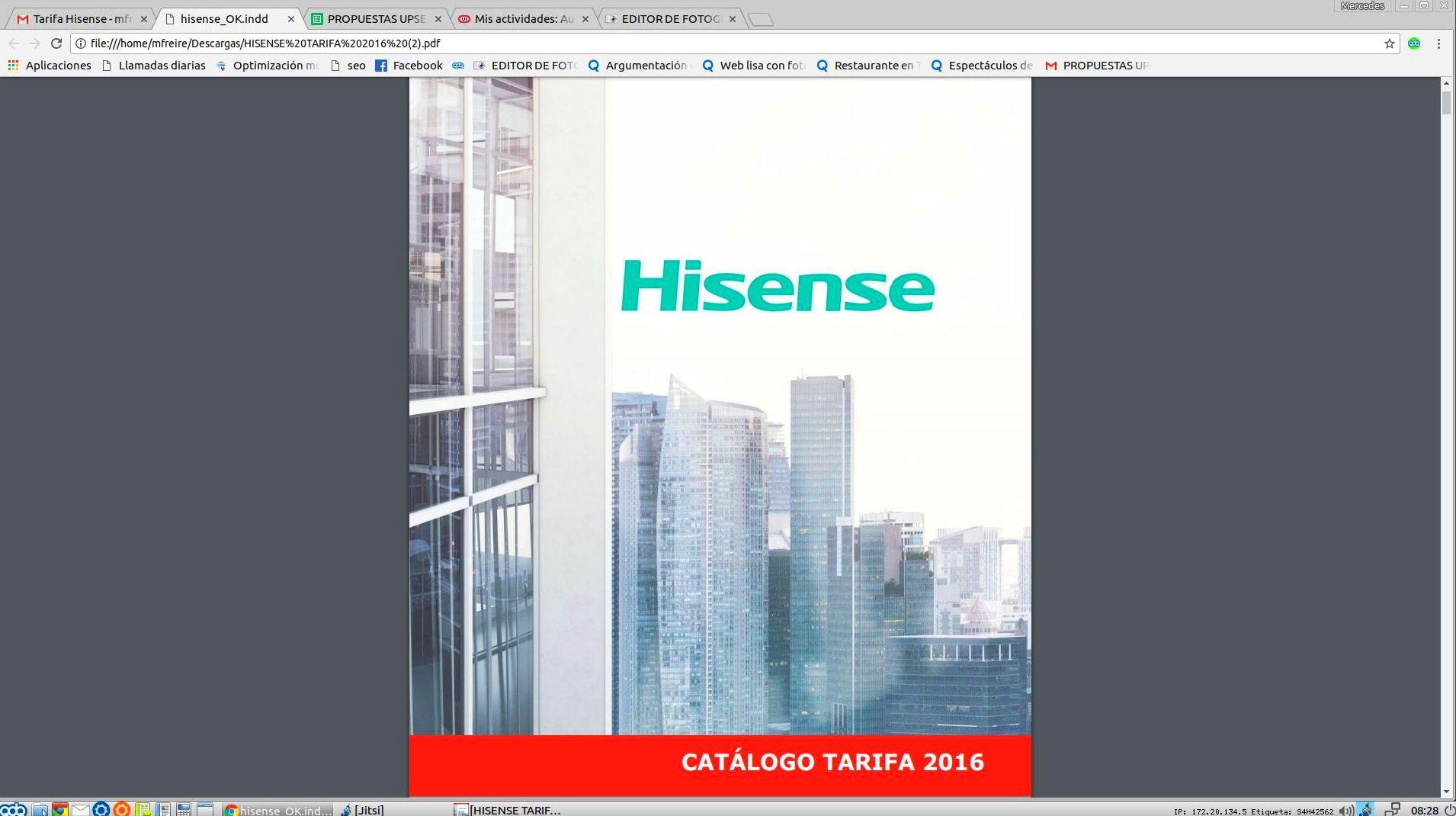 Hisense: Obras, Servicios y Tarifas de Clima Renova