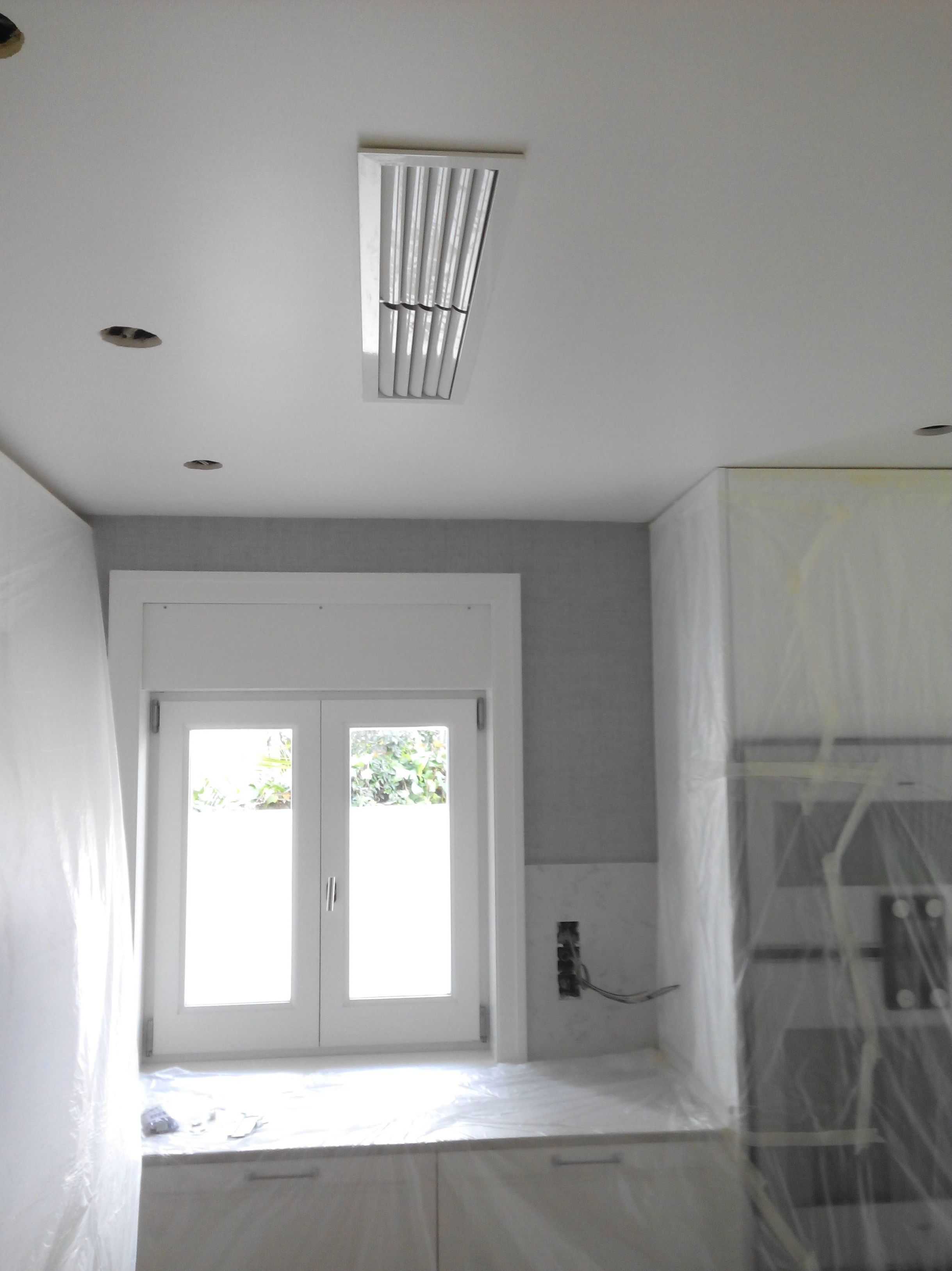 Aire acondicionado por conductos en cocina