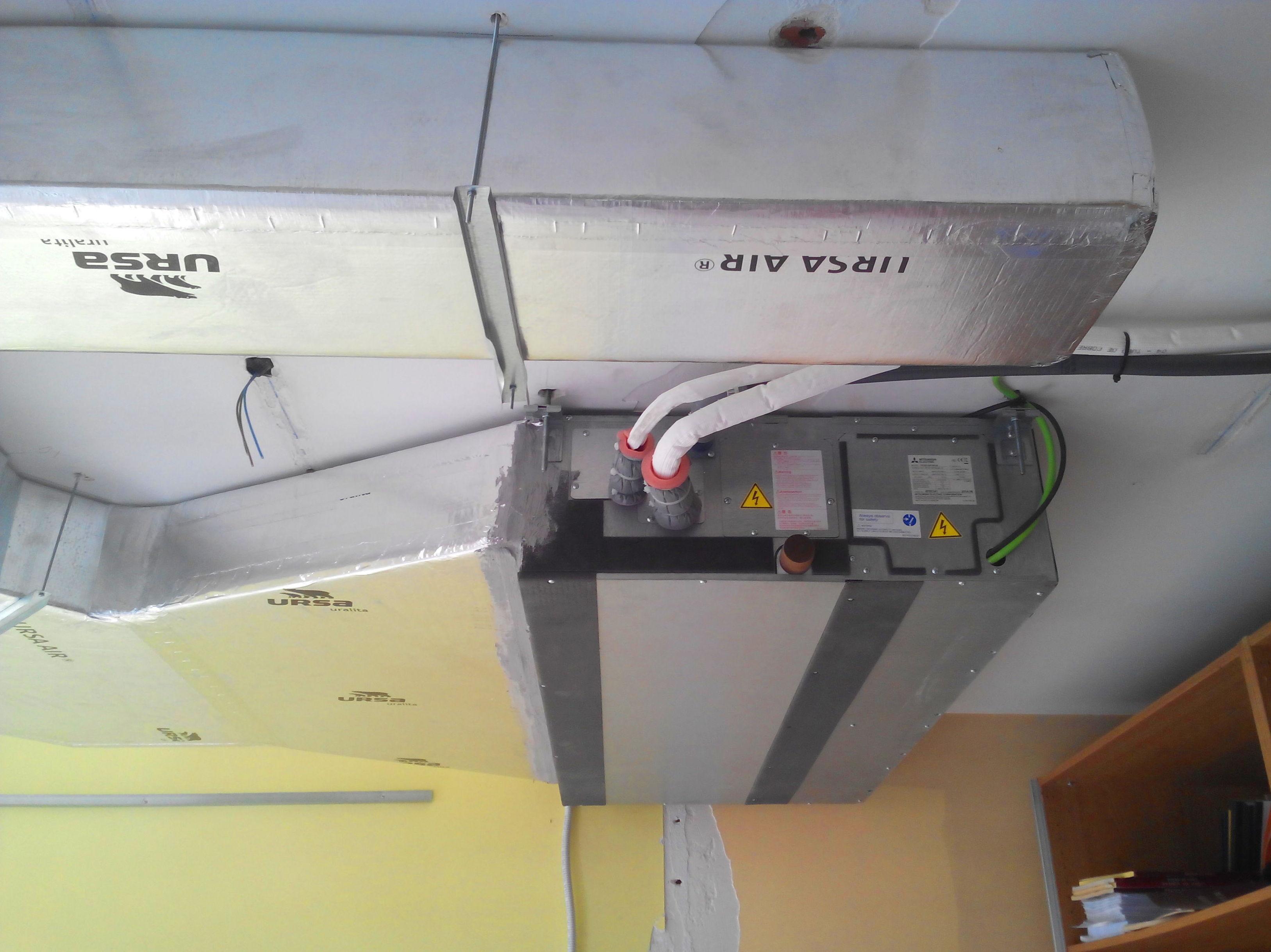 aire acondicionado por conductos en qu consiste