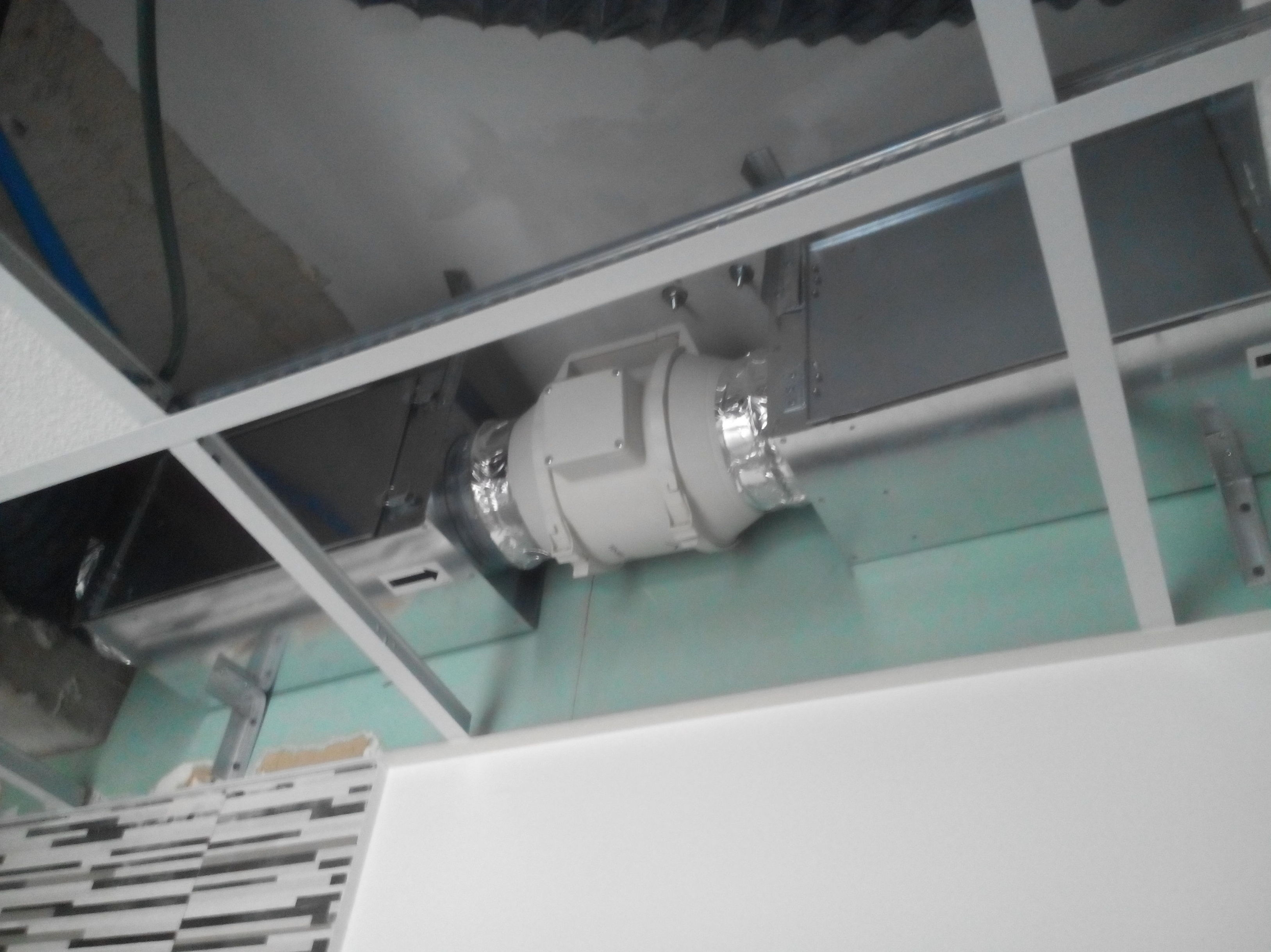 Renovación de aire con cajas filtrantes