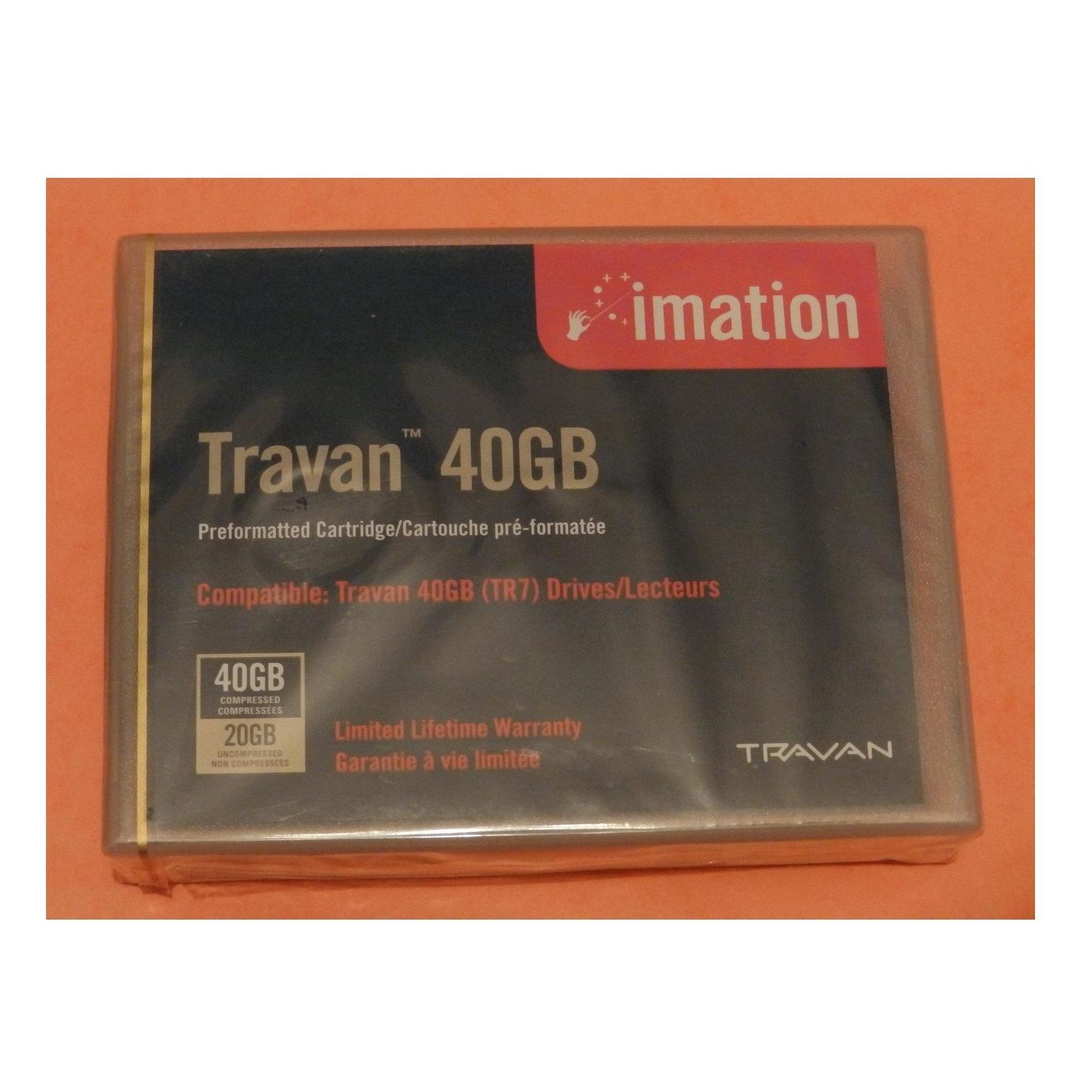 Cartucho cinta Travan 20/40GB: Productos de Solutar - Soluciones de tarjetas