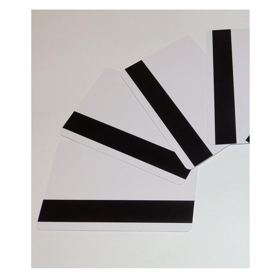 Tarjetas de PVC con banda magnética (LoCo). Sin imprimir.: Productos de Solutar - Soluciones de tarjetas
