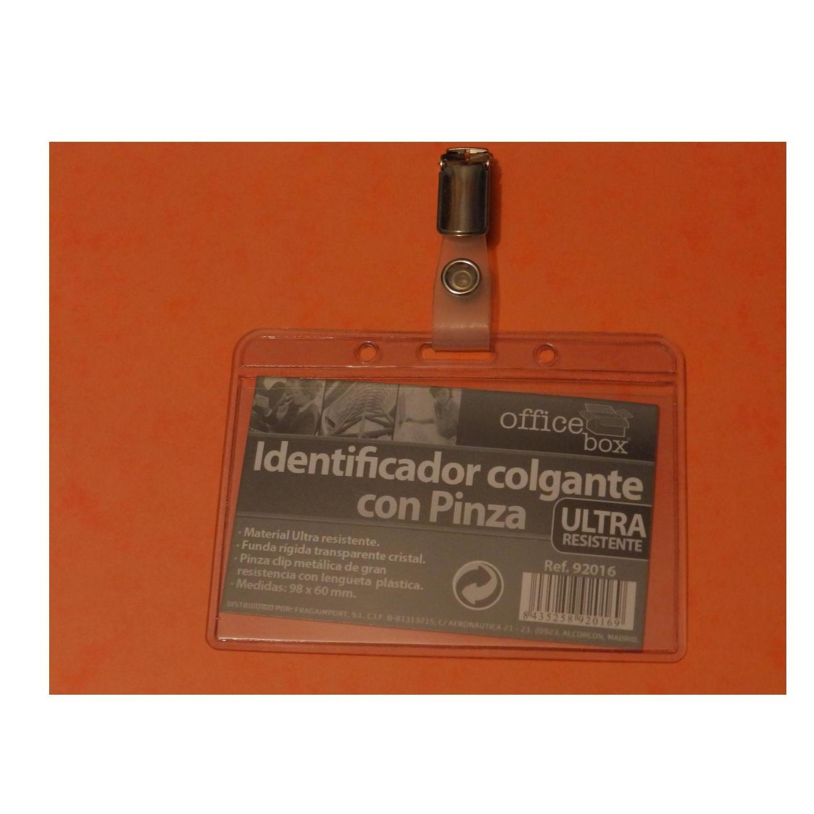 Tarjetas de plastico.  Porta ID con pinza: Productos de Solutar - Soluciones de tarjetas