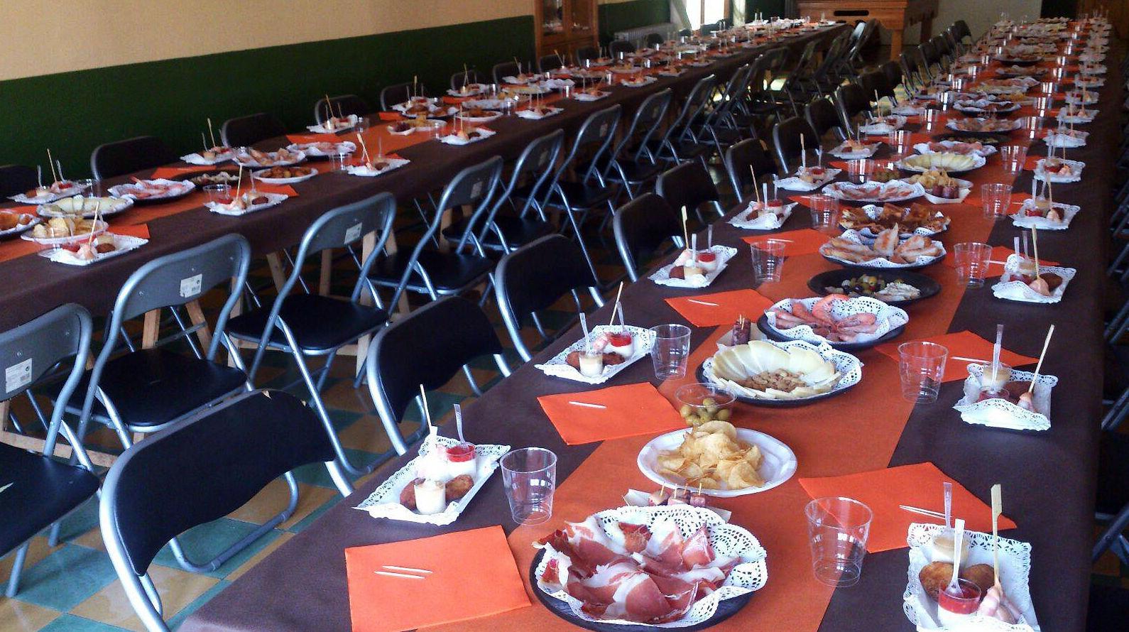 Catering para fiestas populares en Zaragoza