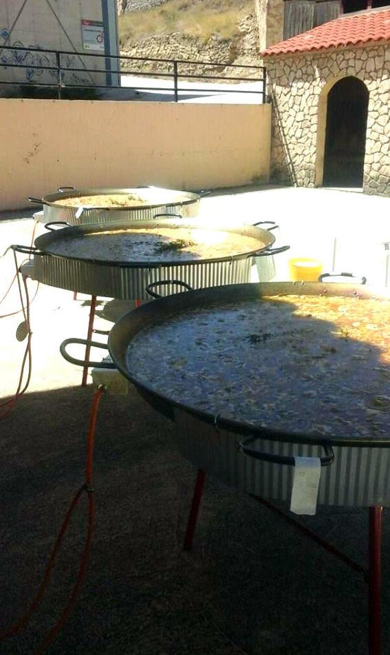 Paellas para fiestas populares en Zaragoza