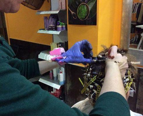 Servicio de peluquería unisex en Madrid