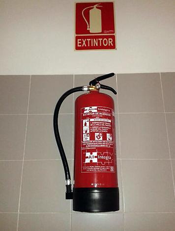 Mantenimiento de extintores en Madrid y Guadalajara