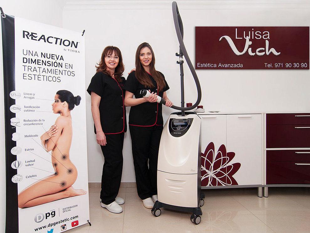 Reaction: Tratamientos y productos de Estética Avanzada Luisa Vich
