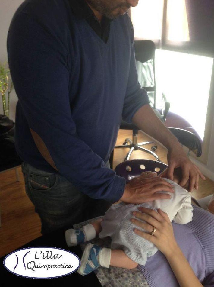 Quiropráctica para Bebes