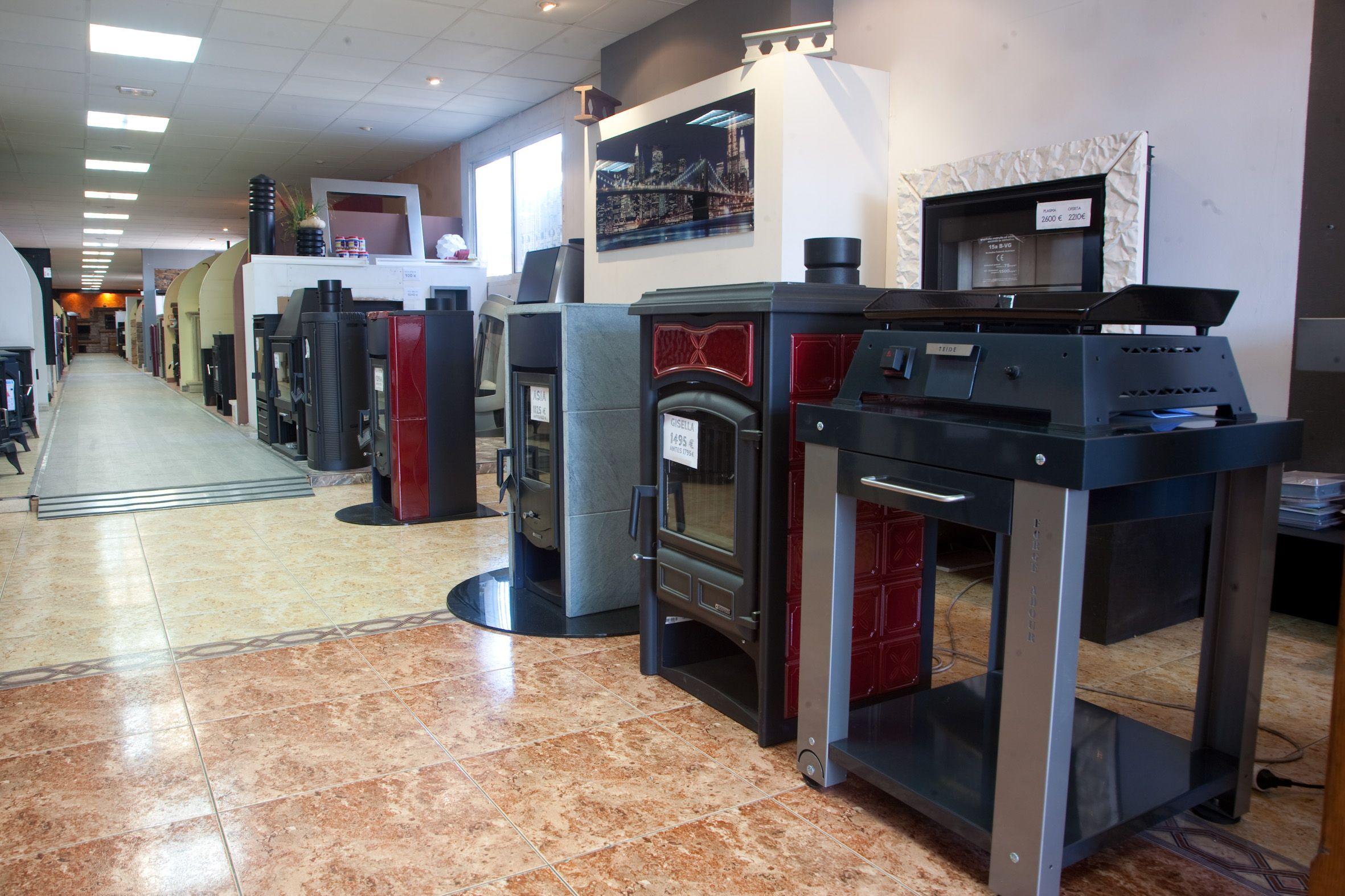 Foto 11 de Chimeneas y estufas en Villanueva de Gállego | Chimeneas López