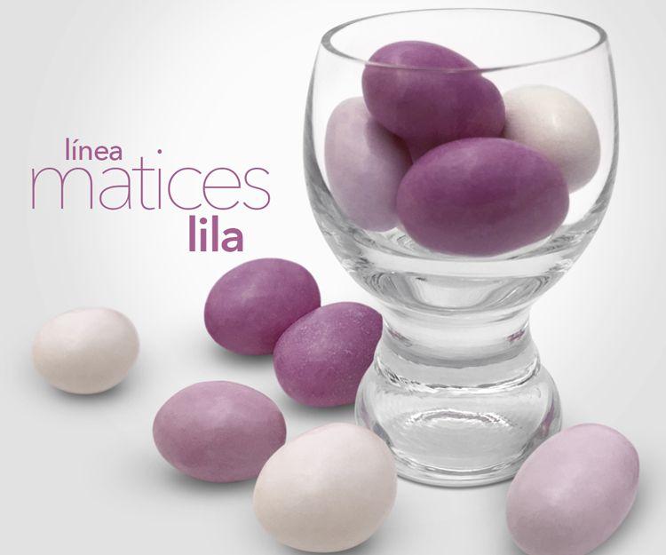 Bombones Línea Matices lila