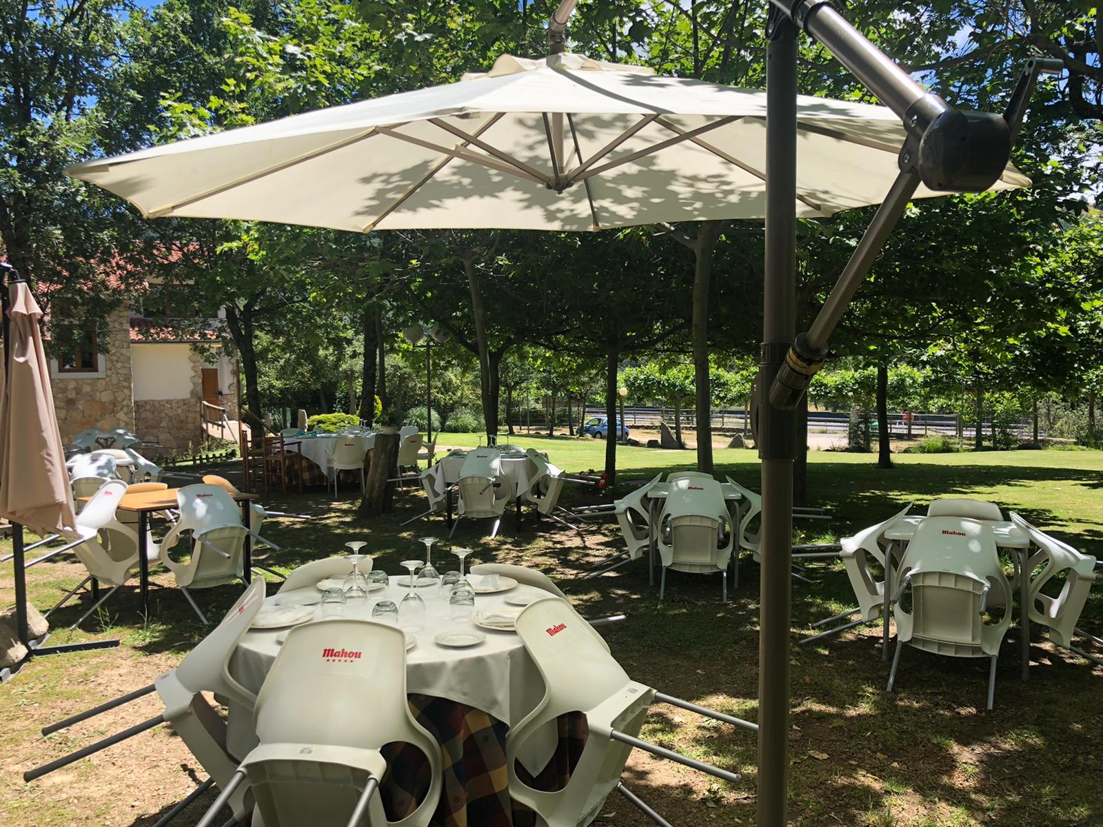 Restaurante al aire libre. La corrobla. Salamanca