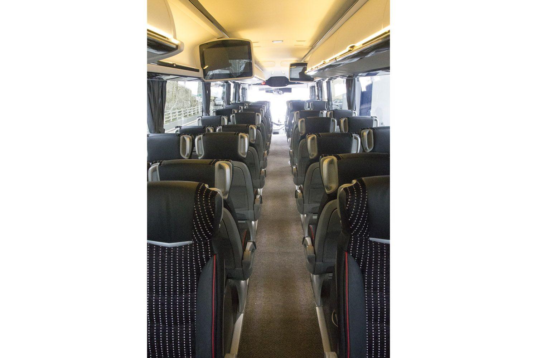 Autobuses con televisión