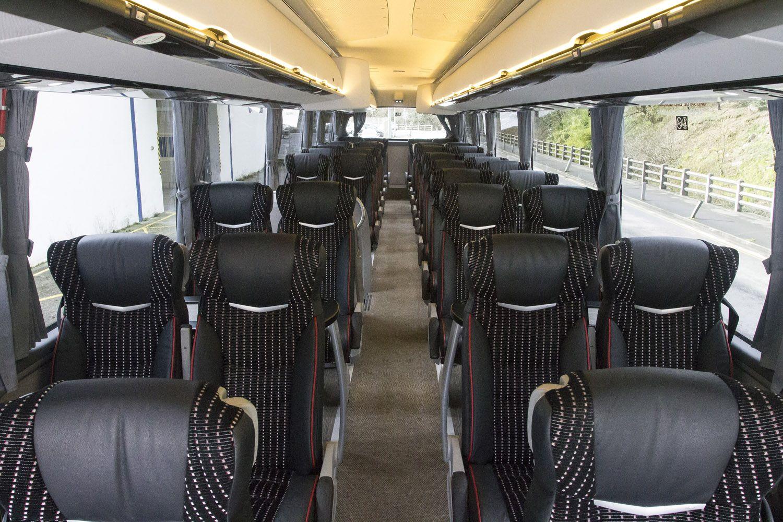 Interior de nuestro autobus
