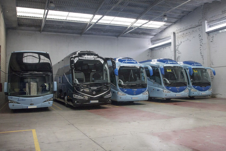 Nuestra flota de autobuses