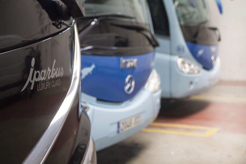 Empresas de buses en Guipúzcoa