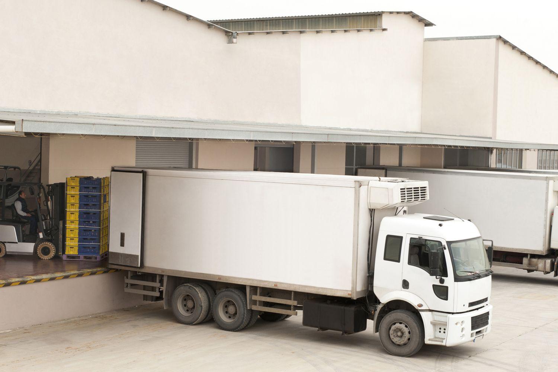 Transporte frigorífico de verduras en Málaga