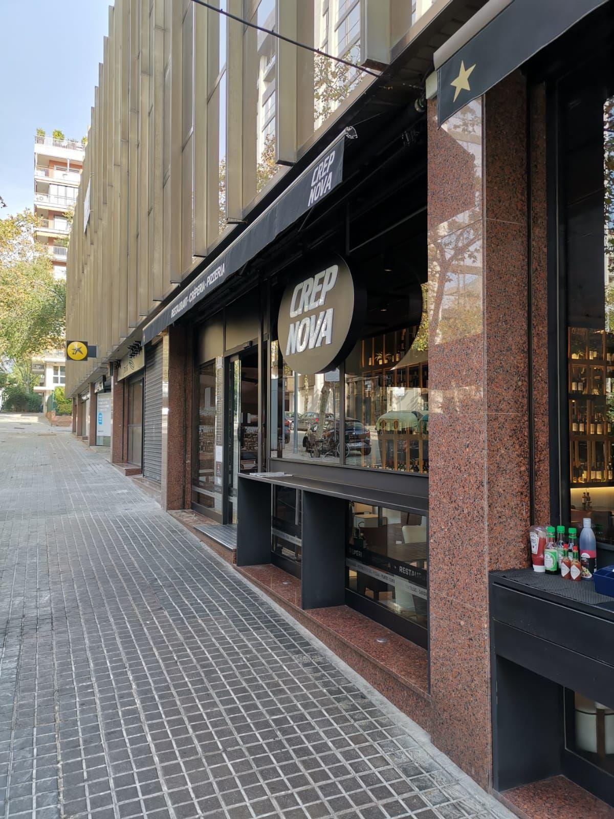 Limpieza de fachadas de locales