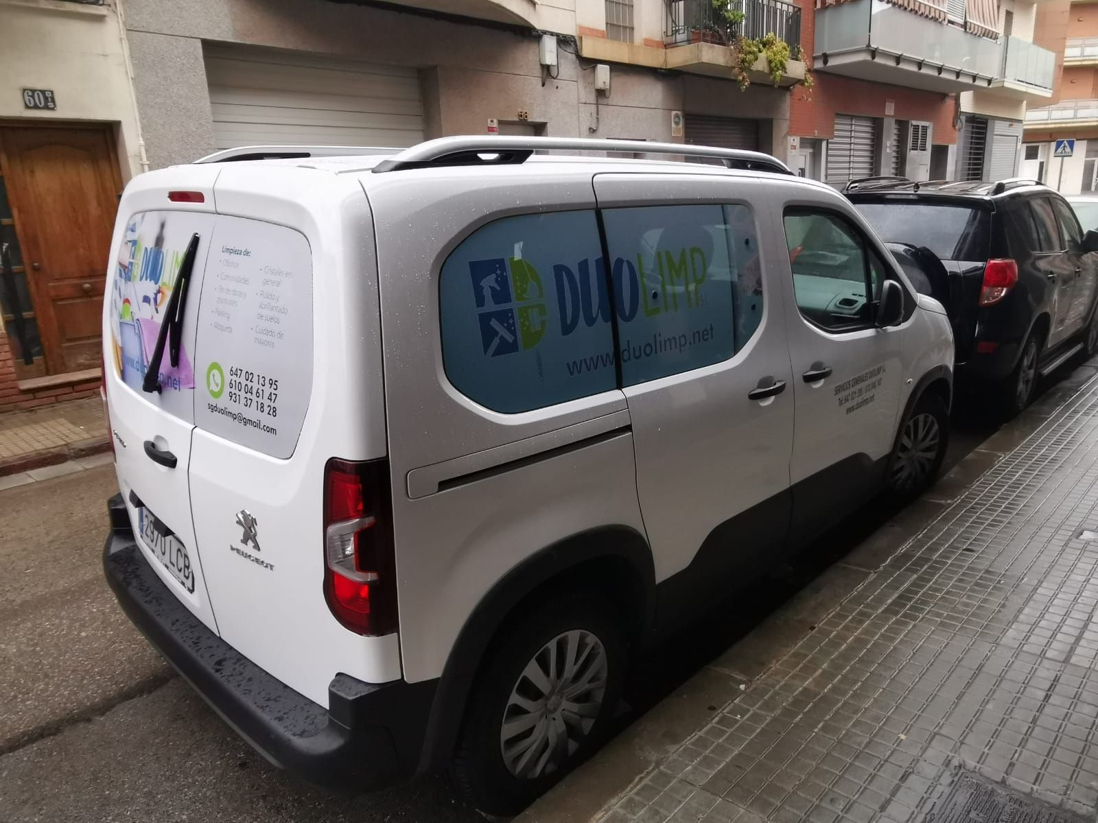 Flota de vehículo de Duolimp