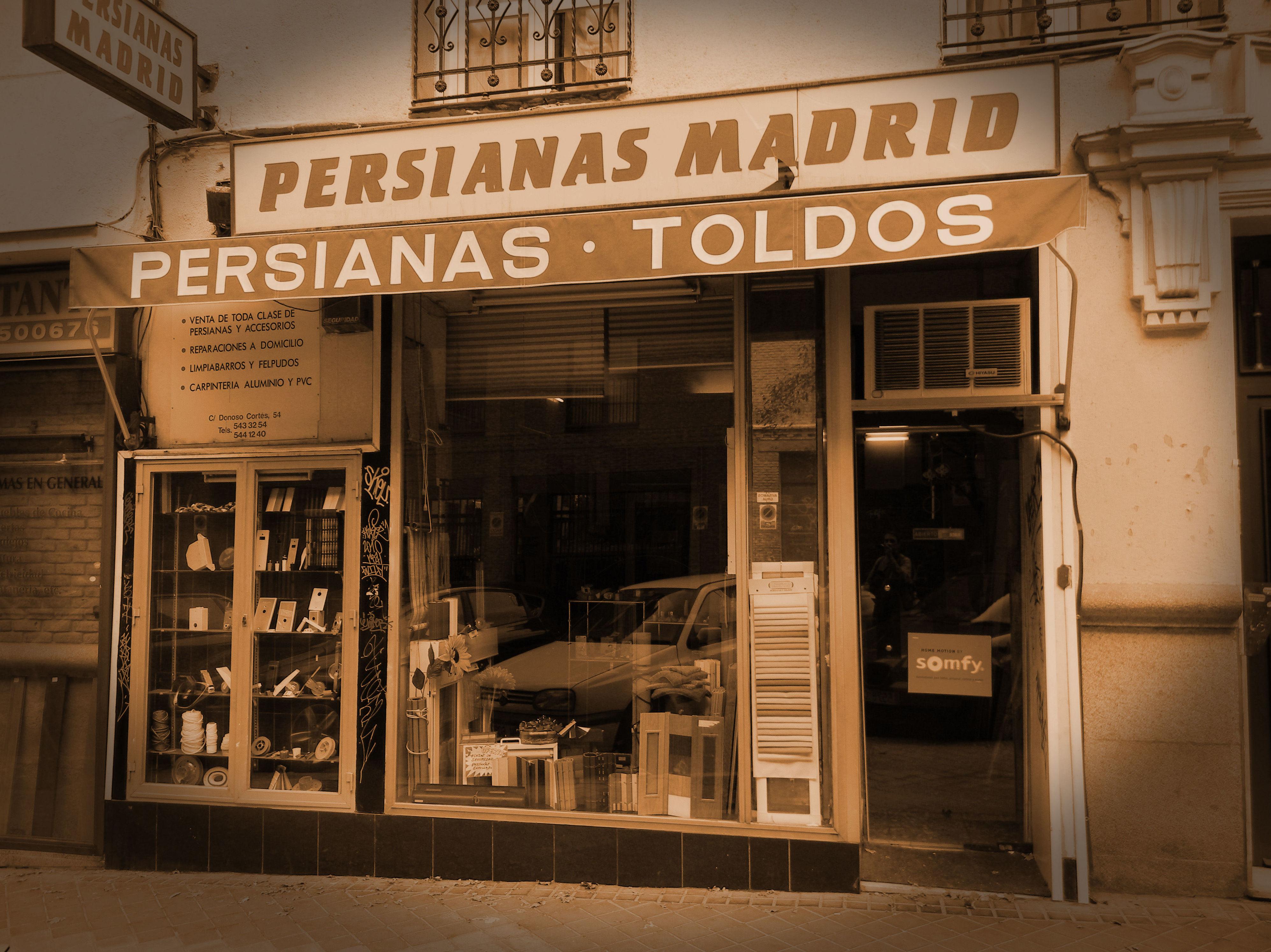 Persianas H. Madrid, S.L., la empresa de persianas más antigua de Madrid
