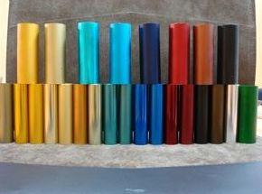 Tratamientos de coloración del aluminio en Barcelona