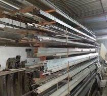 Almacén de tubos en varias medidas y modelos