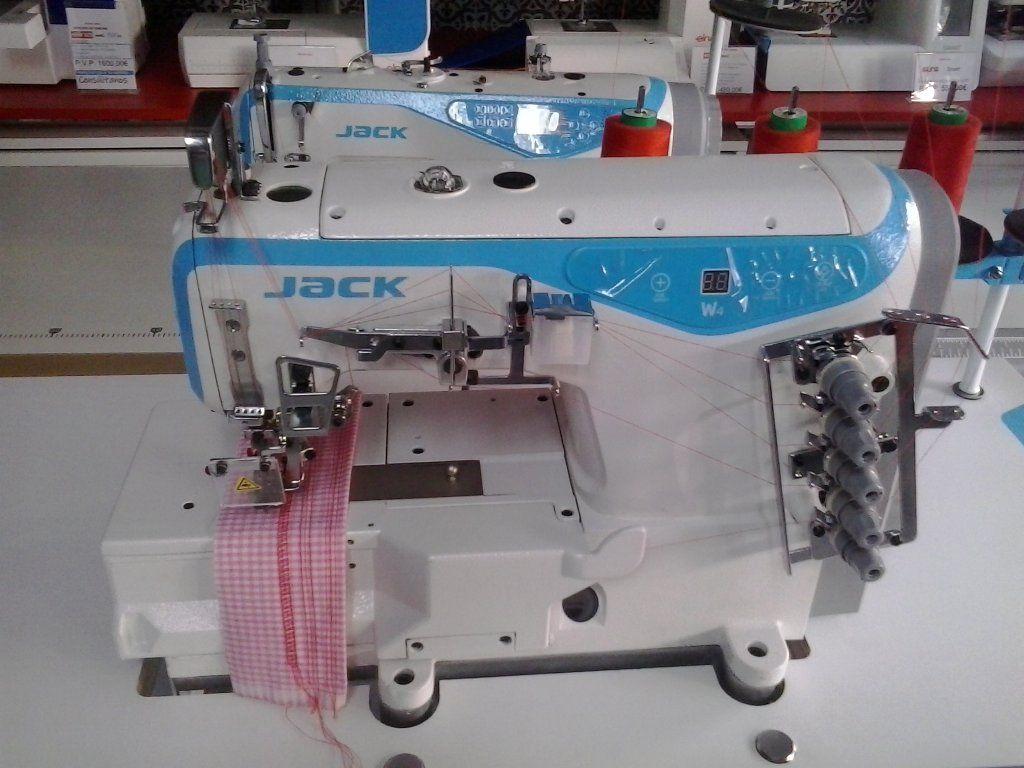 Nuestras máquinas: Recubridora Jack