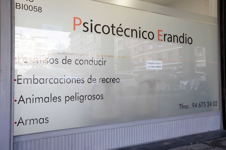 Permisos para el manejo de grúas en Erandio, Vizcaya