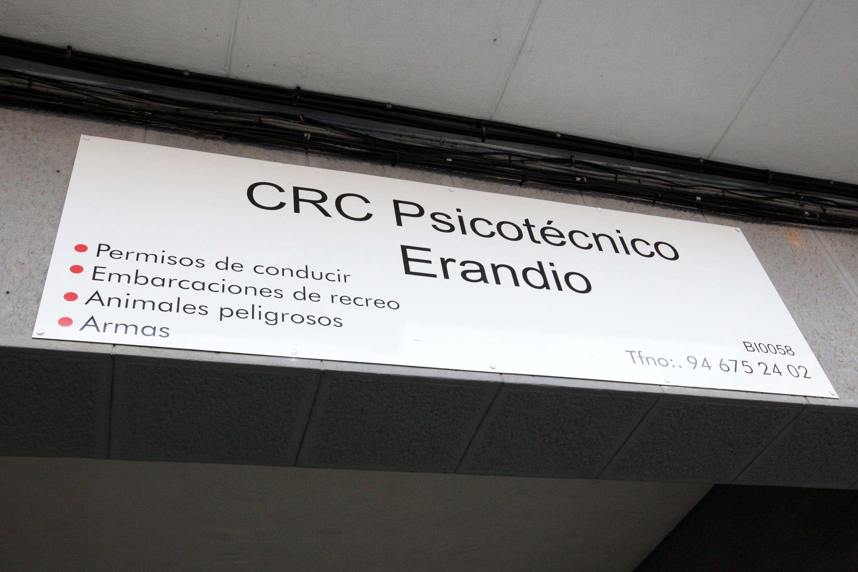 Certificados psicotécnicos en Erandio, Vizcaya