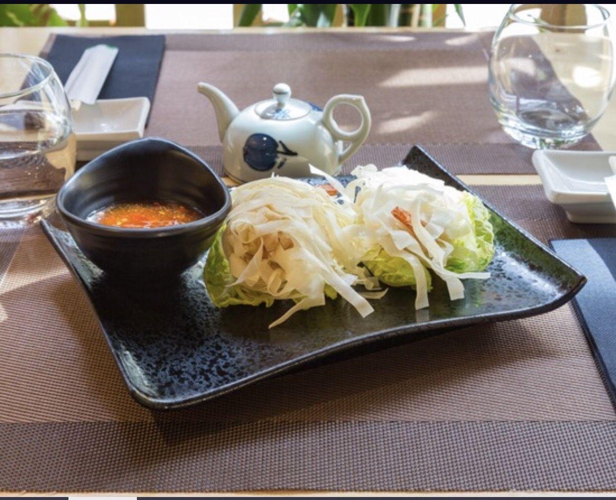 Cocina japonesa con productos frescos en Poblenou Barcelona