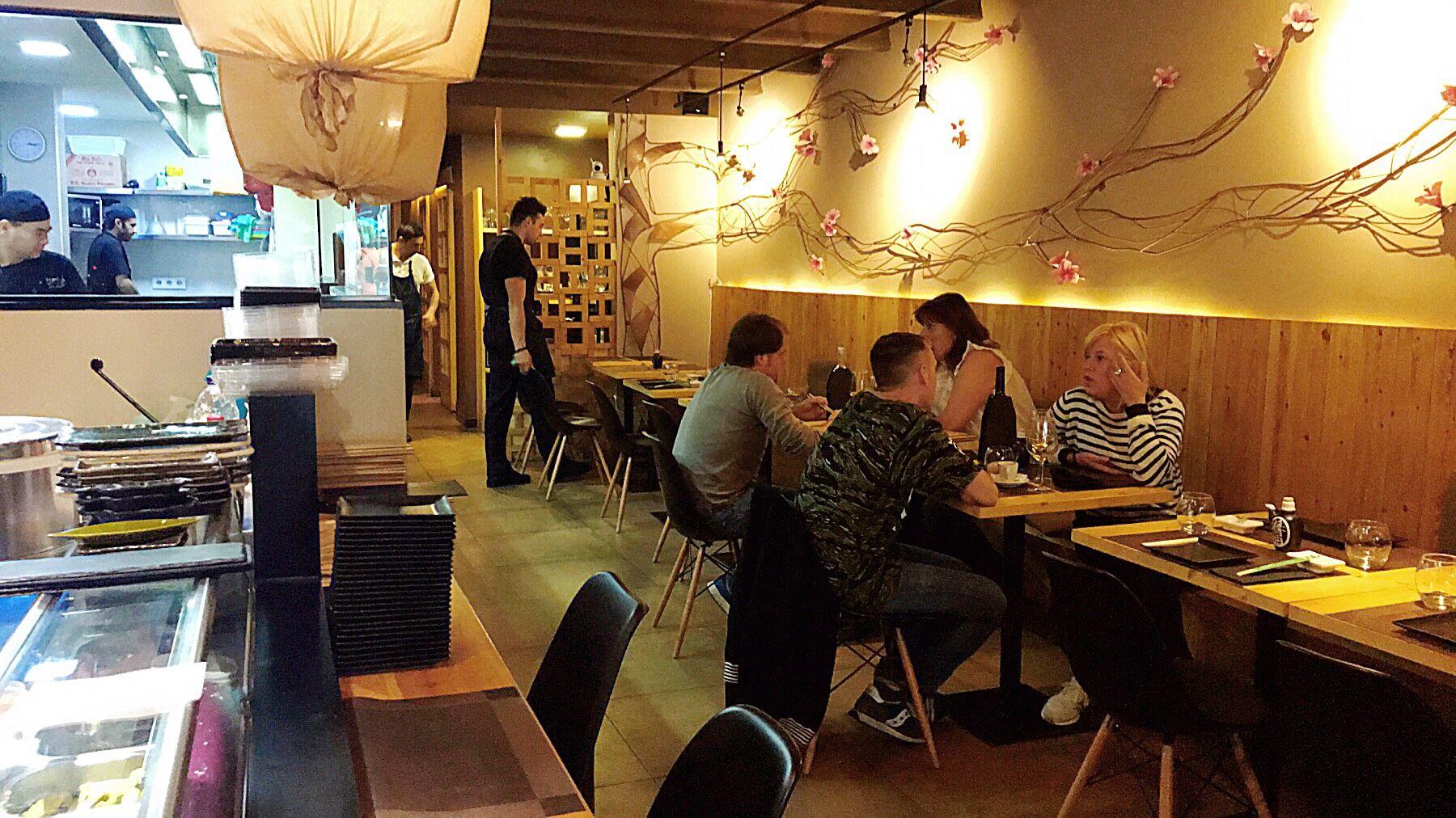 Restaurante japonés en Poblenou Barcelona