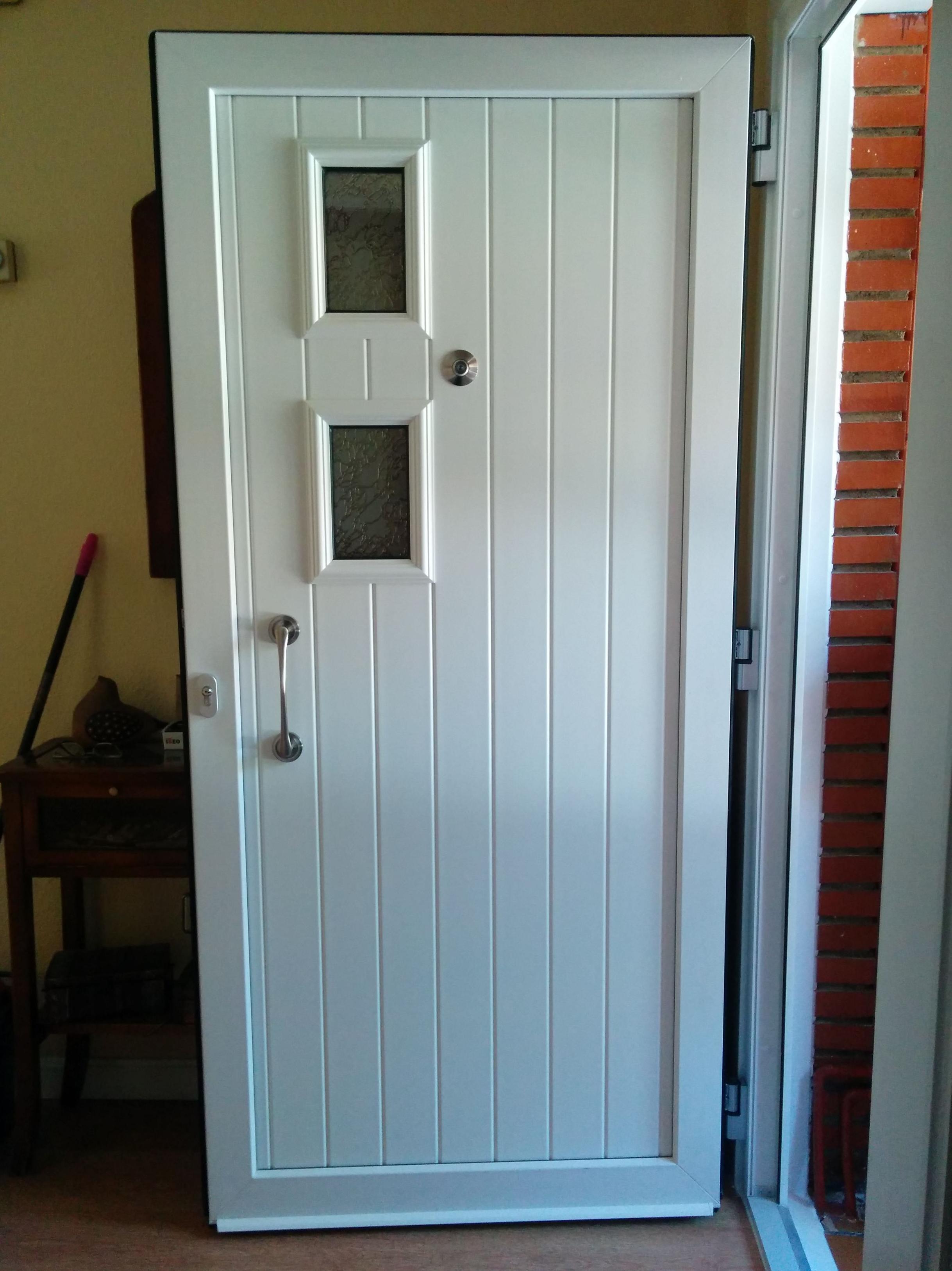 Puerta PVC blanco