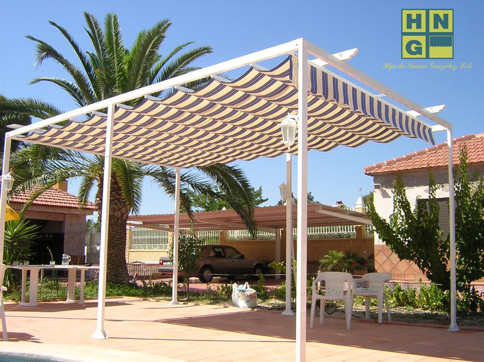 Pergola Modelo Tarragona