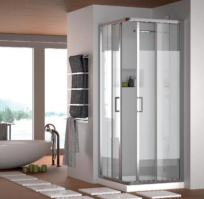 Mampara de ducha modelo Draco