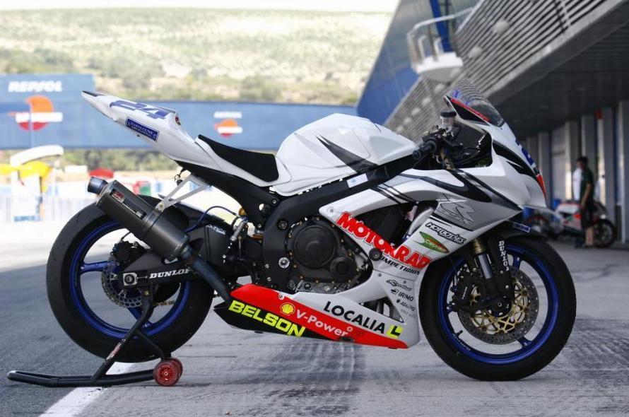 Motos de competición en Zaragoza