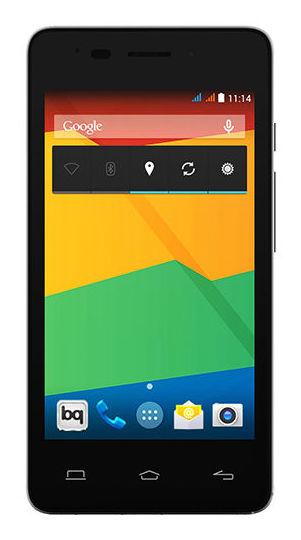 BQ Smartphone Aquaris E4 black