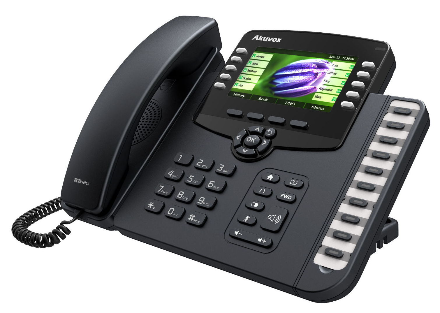Teléfonos SIP Akuvox