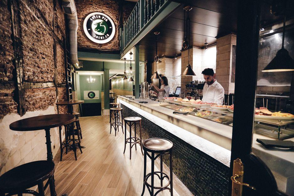 Restaurante en el centro de Madrid