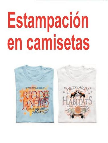 Estampación de Camisetas: Catálogo de Editor, S.A. Artes Gráficas