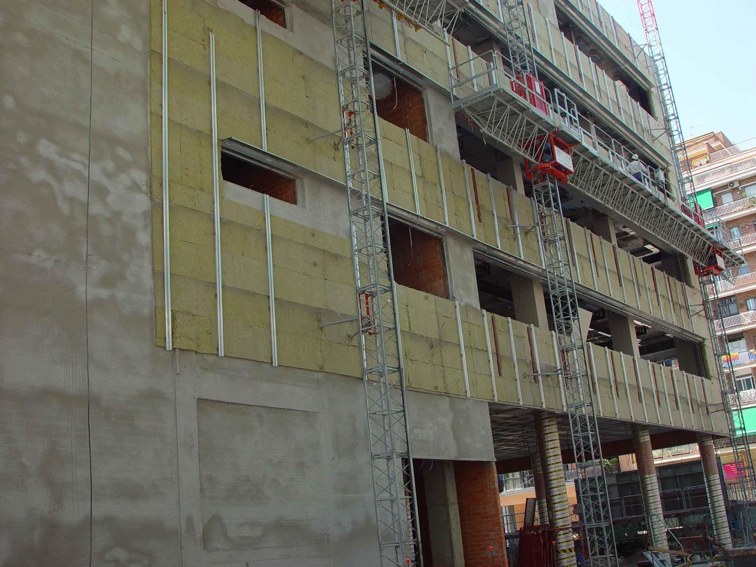 Fachadas ventiladas: Servicios de Construcciones I.M. 2000