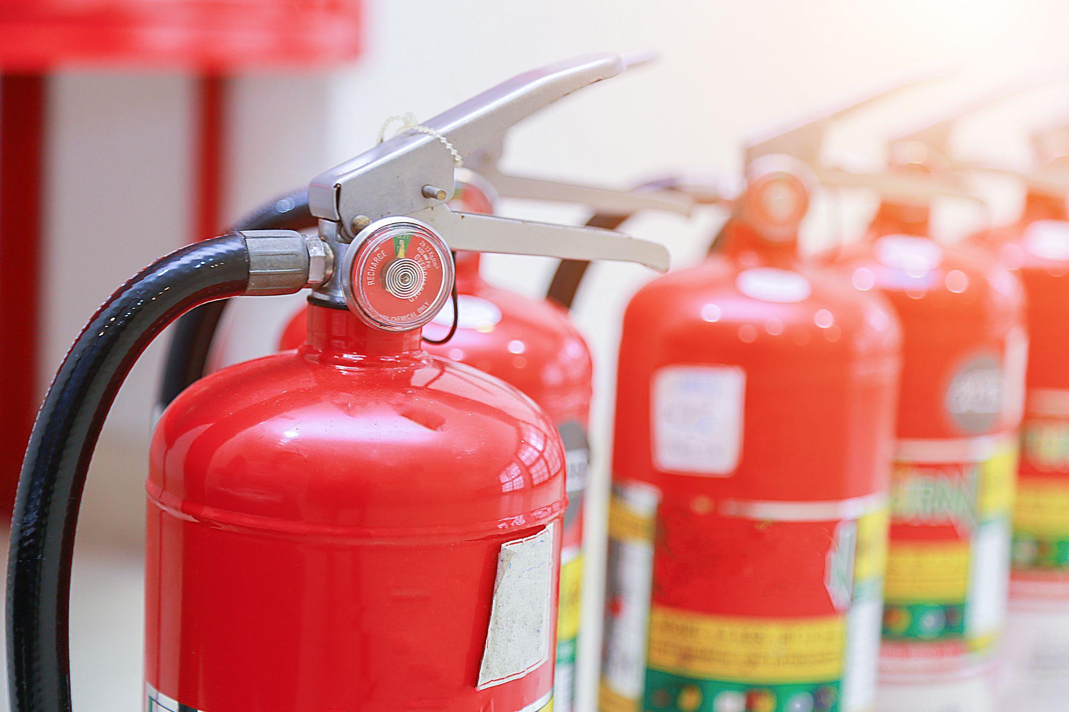 Cursos de formación contra incendios