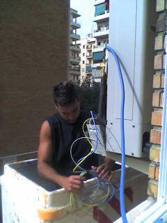 Instalación equipo aire acondicionado