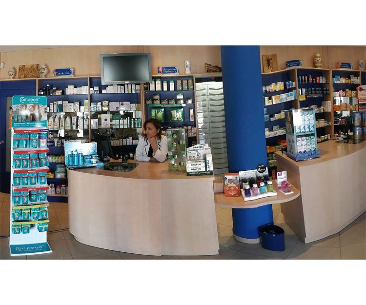 Venta de productos farmacéuticos en Almagro