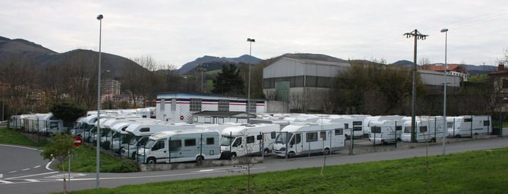 Tienda de caravanas y autocaravanas en Guipúzcoa