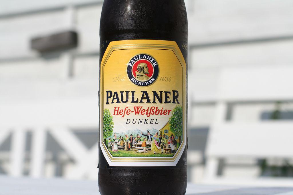 Paulaner Hefe-Weibiier-Dunkel: En nuestro local de Cervecería Ca'Melán