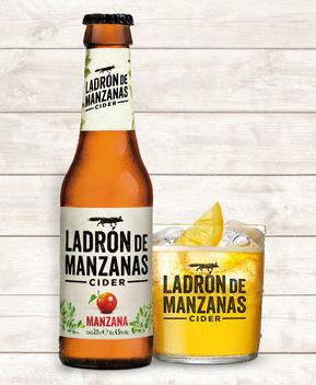 Ladrón de Manzanas ( Cider ) : En nuestro local de Cervecería Ca'Melán