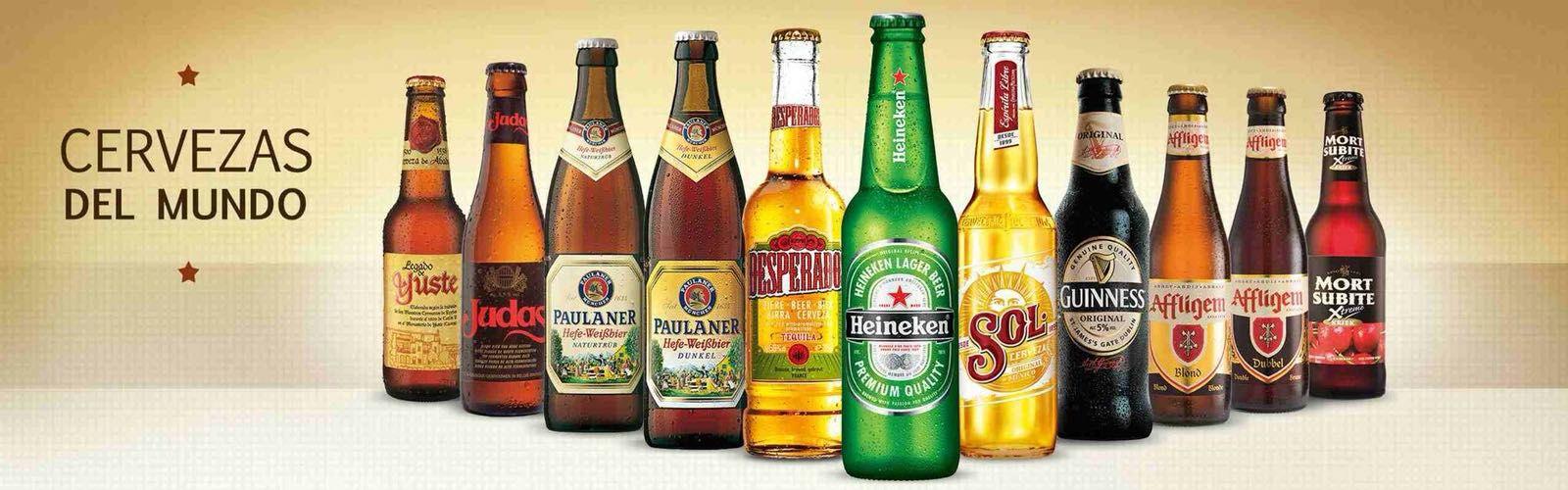 Gran variedad de las mejores cervezas