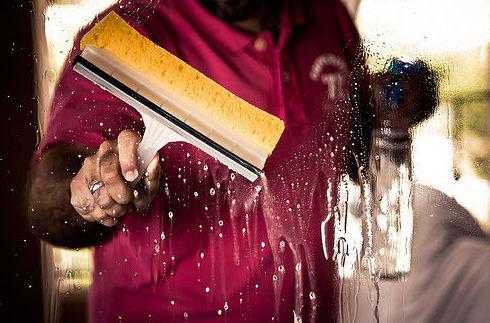 Trabajos de limpieza en hoteles