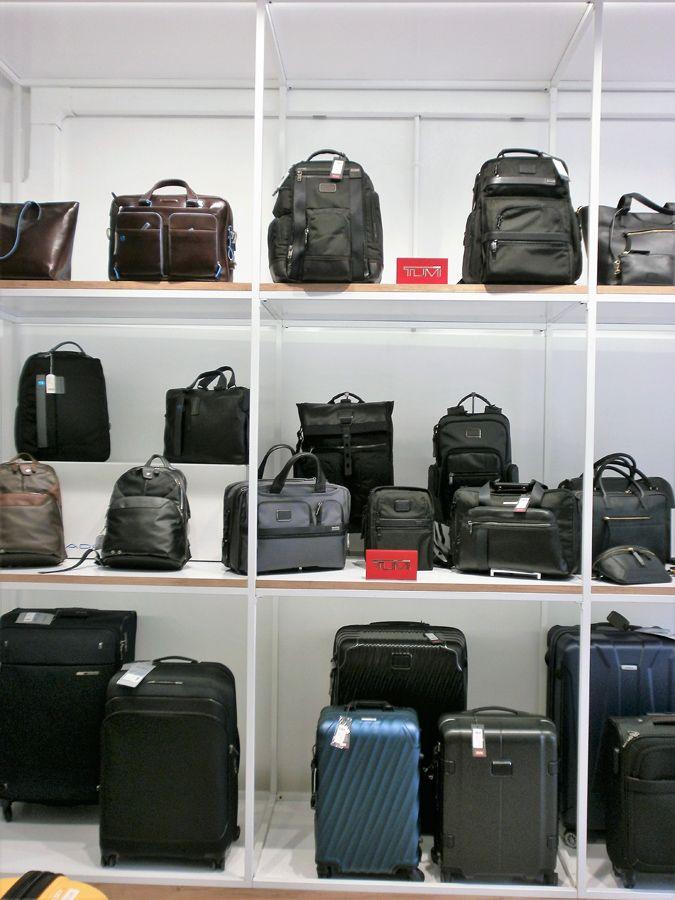 Maletas y mochilas de viaje en Barcelona