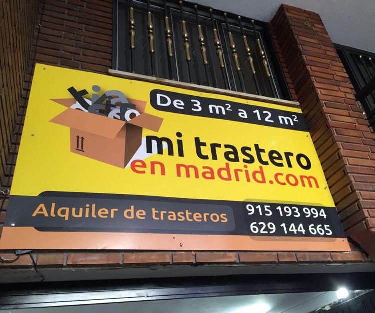 Alquiler de trasteros económicos en Madrid